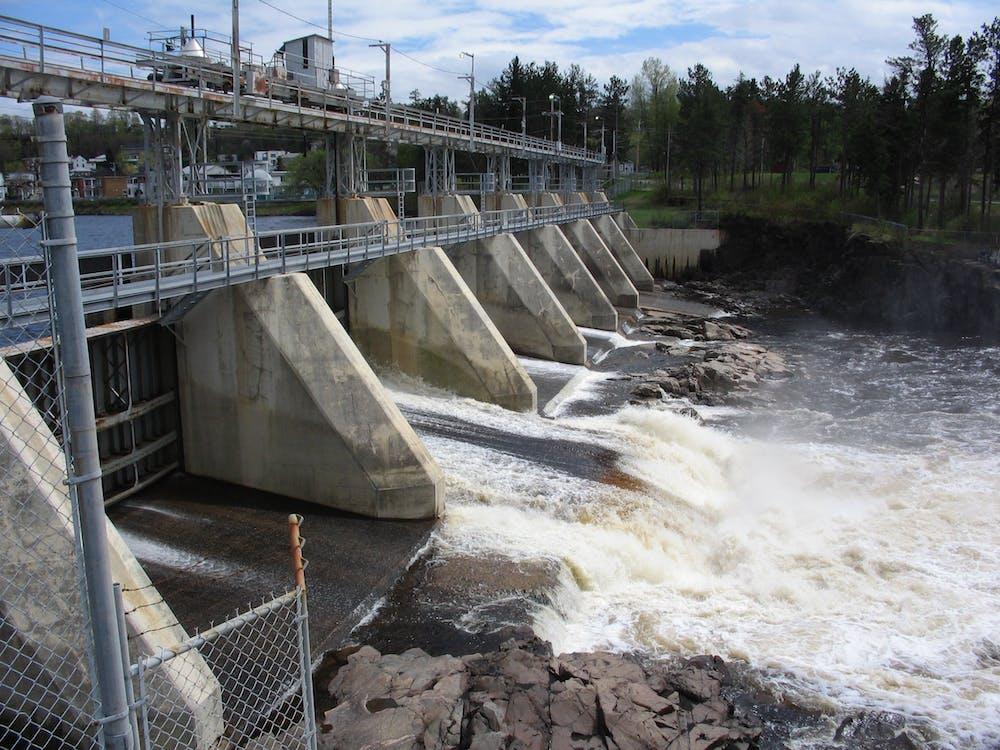 Free stock photo of dam, shawinigan, st maurice