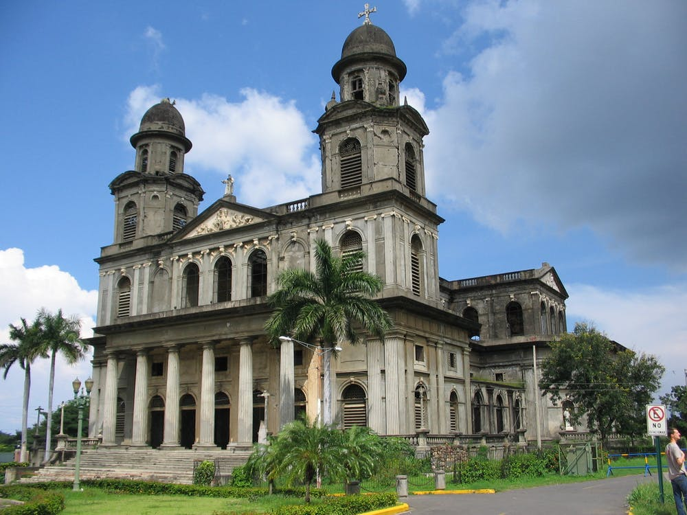 Free stock photo of cathedral, managua, nicaragua