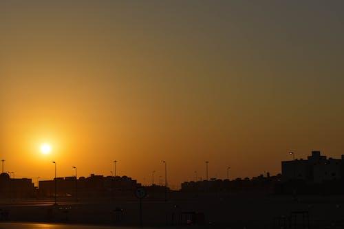 Free stock photo of golden hour, sun, sunset