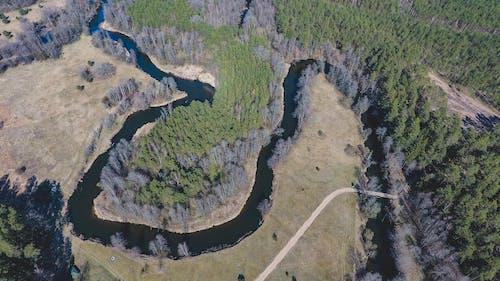 Free stock photo of big river, drone camera, drone controller