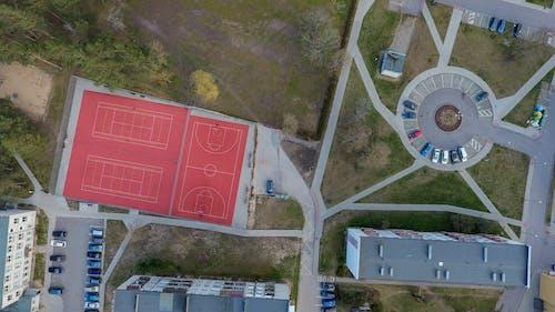 Free stock photo of basketball, basketball court, big city