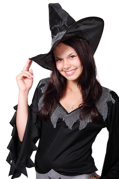 Fotos de stock gratuitas de bonito, disfraz, Halloween, hembra