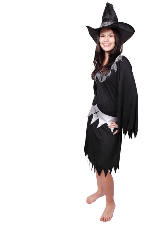 Women in Witch Costume