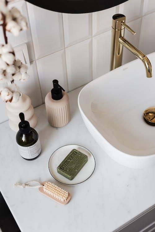 Foto profissional grátis de banheira, banheiro, banho