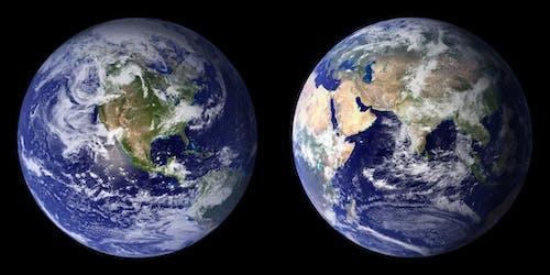 Gratis lagerfoto af Globe, jord, jorden, kontinenter