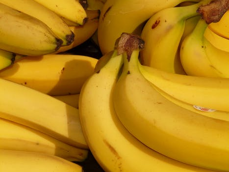 Bunch of Yellow Banana