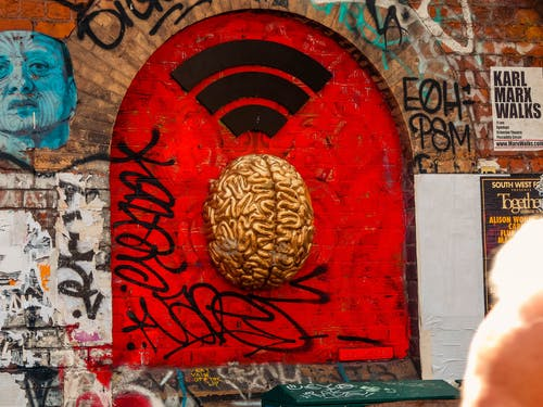 Free stock photo of central london, streetart