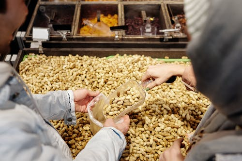People Buying Peanuts
