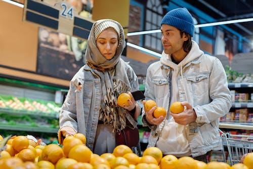 Základová fotografie zdarma na téma dvojice, hidžáb, lidé, muslimské