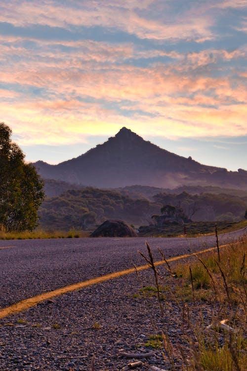 Photos gratuites de montagne, route
