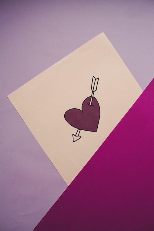 Free stock photo of heart, illustration, love