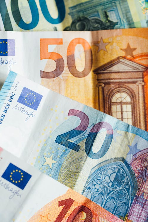 Photo of European Banknotes