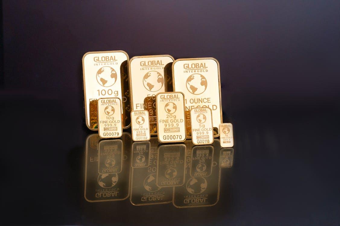 Free stock photo of global intergold, gold, gold bar shop