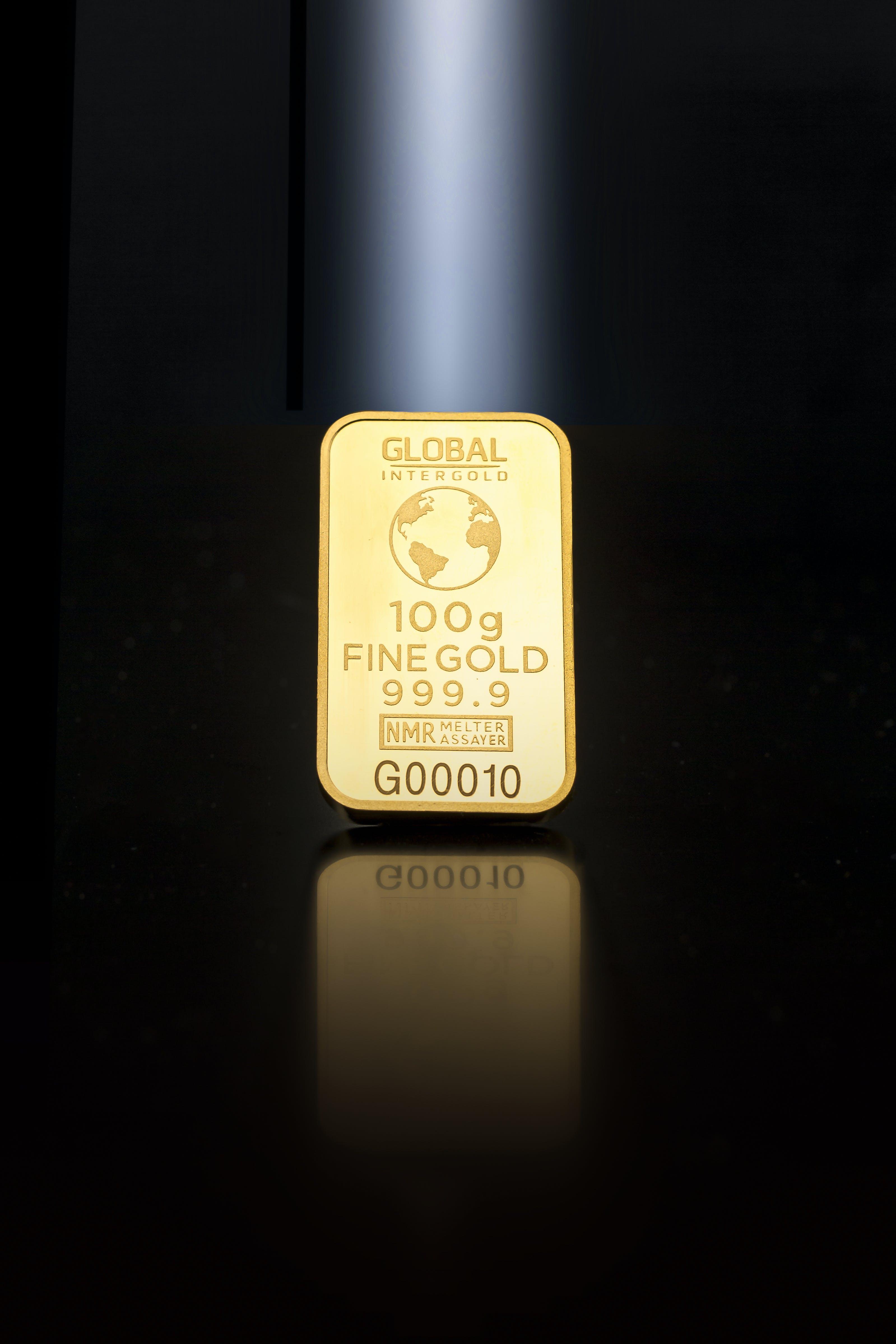 คลังภาพถ่ายฟรี ของ 100 กรัม, 999.9, intergold ทั่วโลก, การลงทุน