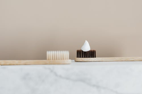 Photo of Toothpaste on Toothbrush