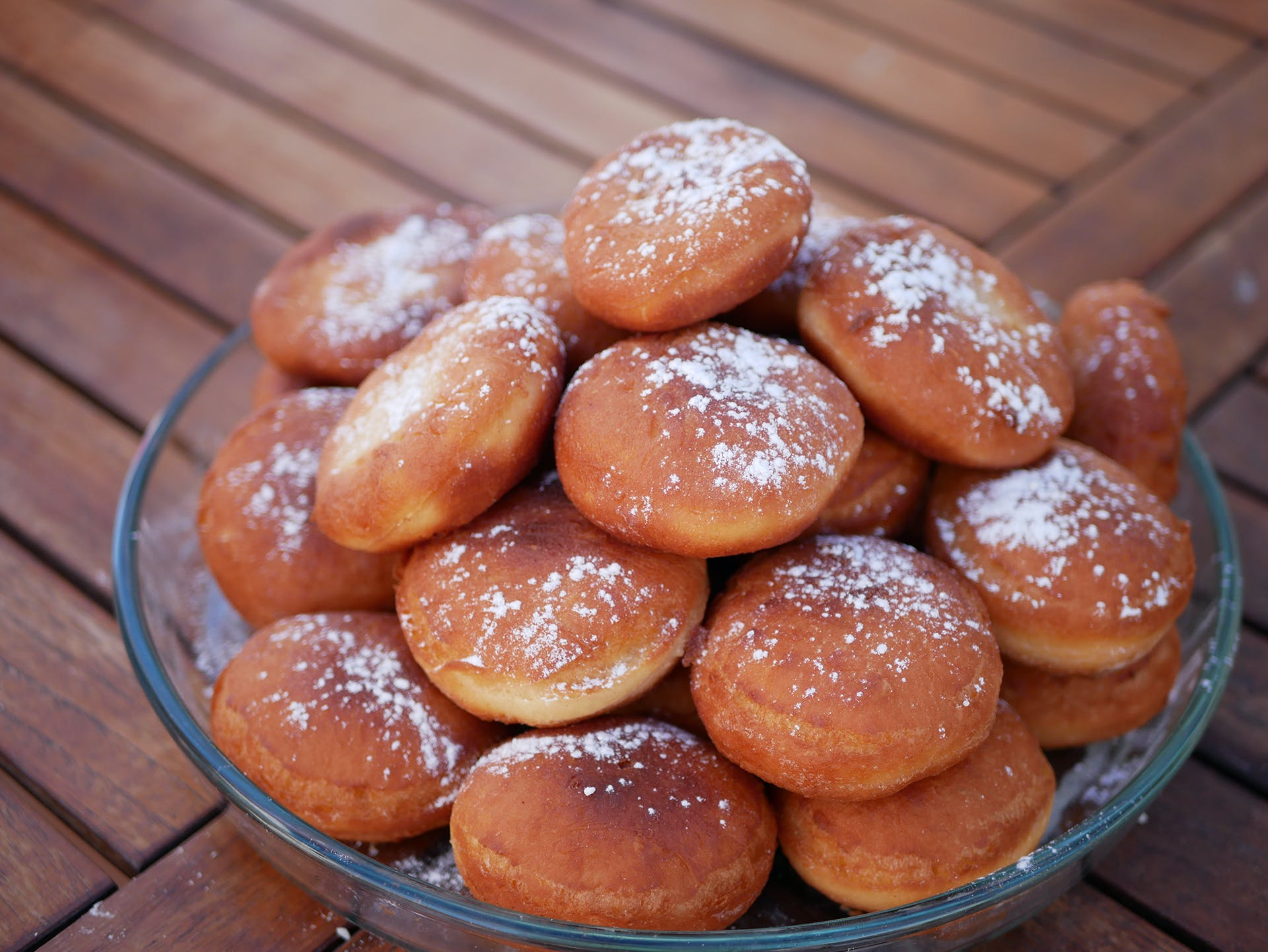 Bowl of Pastries