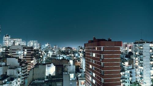 Бесплатное стоковое фото с архитектура, вечер, горизонт, город
