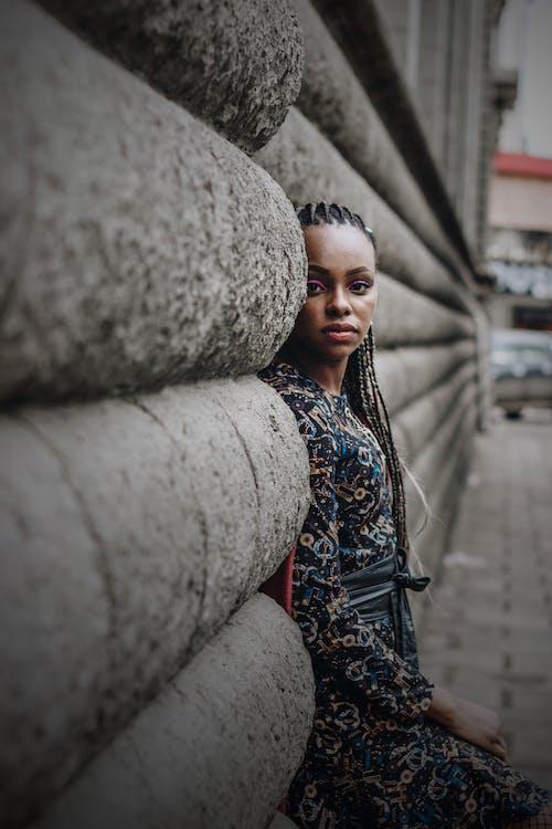 アフリカ系アメリカ人女性, アフロ, エスニック, カジュアルの無料の写真素材