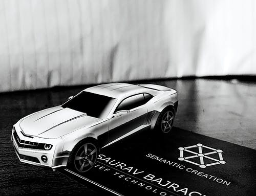 Immagine gratuita di ar, auto, bianco e nero, biglietto da visita