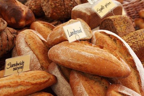 갈색, 구운, 빵, 음식의 무료 스톡 사진