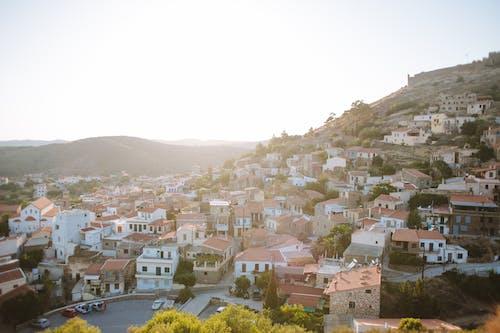 Бесплатное стоковое фото с архитектура, вид сверху, город