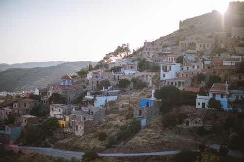Old Town on a Hill