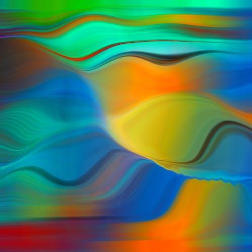 Бесплатное стоковое фото с абстрактное искусство, абстрактный, гофрированная, графический