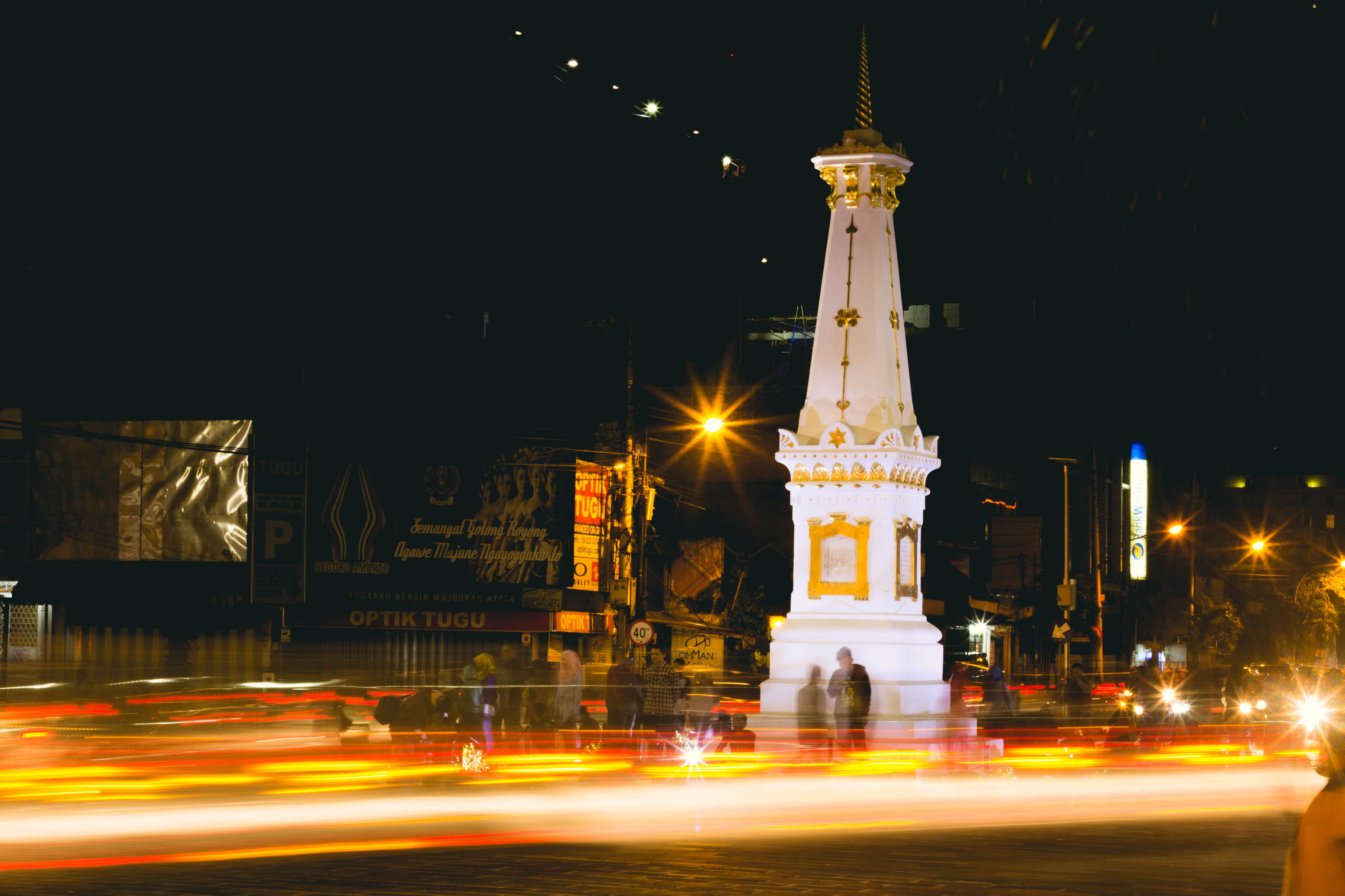 Free stock photo of bulb, city, indonesia, java
