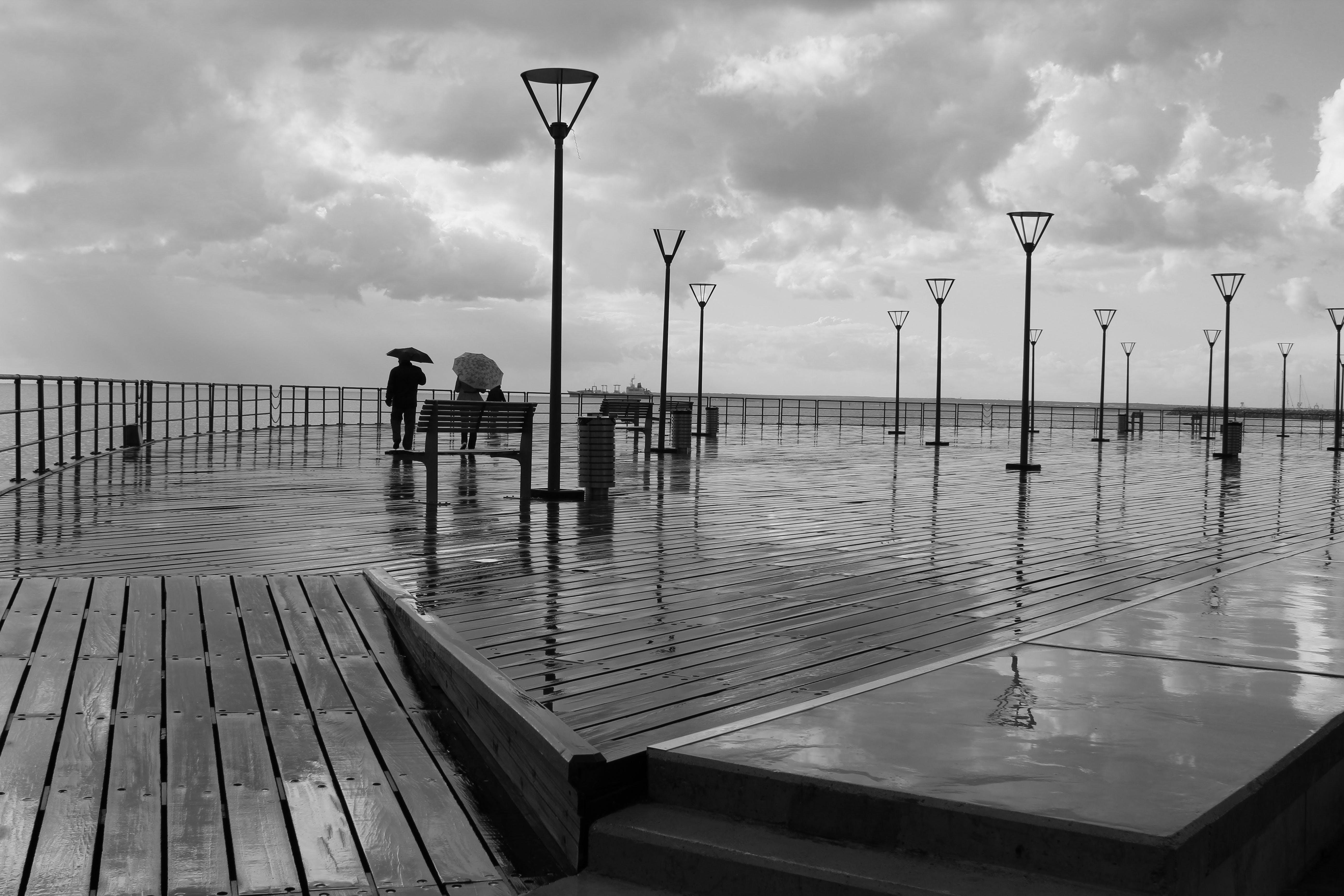 Immagine gratuita di acqua, alba, banchina, barca