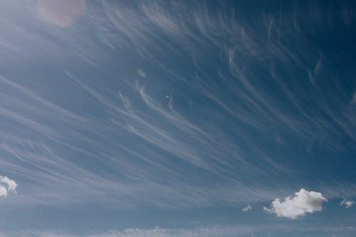 Beautiful cloudy sky in summertime