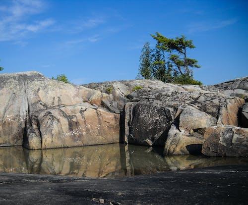 คลังภาพถ่ายฟรี ของ การสะท้อน, ท้องฟ้าสีคราม, ธรรมชาติ, น้ำ