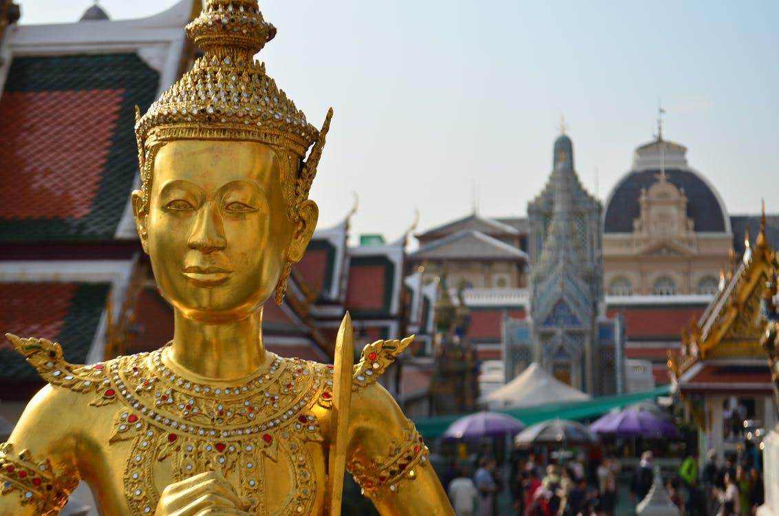 asien, bangkok, buddhismus