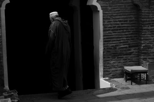 Free stock photo of black and white, islam, marrakech, Marrakesh