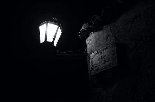Free stock photo of colonia, dark, lamp, lamp post