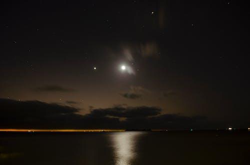 Fotos de stock gratuitas de cielo, Luna, noche, oscuro
