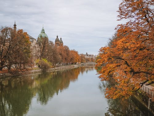 Canal in Autumn