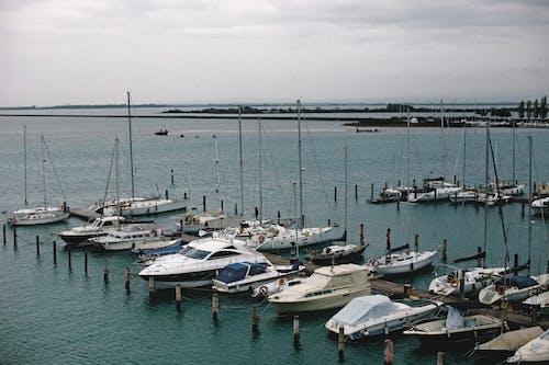 Základová fotografie zdarma na téma cestování, čluny, dopravní systém, jachta