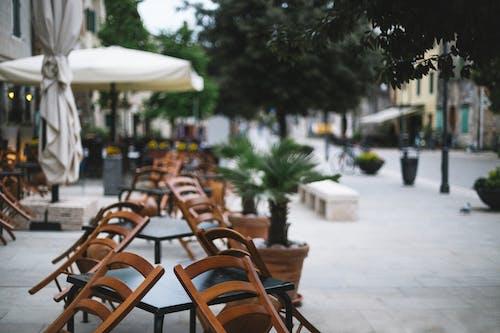 Fotos de stock gratuitas de afuera, aire libre, cafe vacio