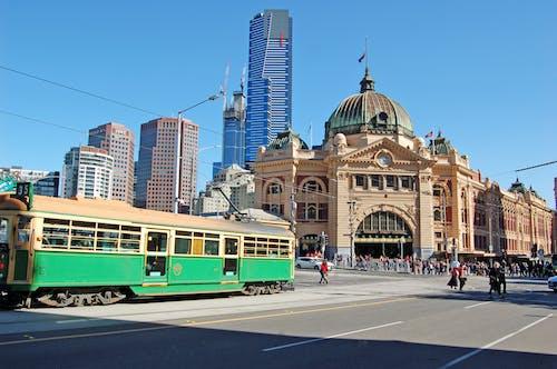 Ilmainen kuvapankkikuva tunnisteilla asema, flinders street station, katu australia, matkustaa