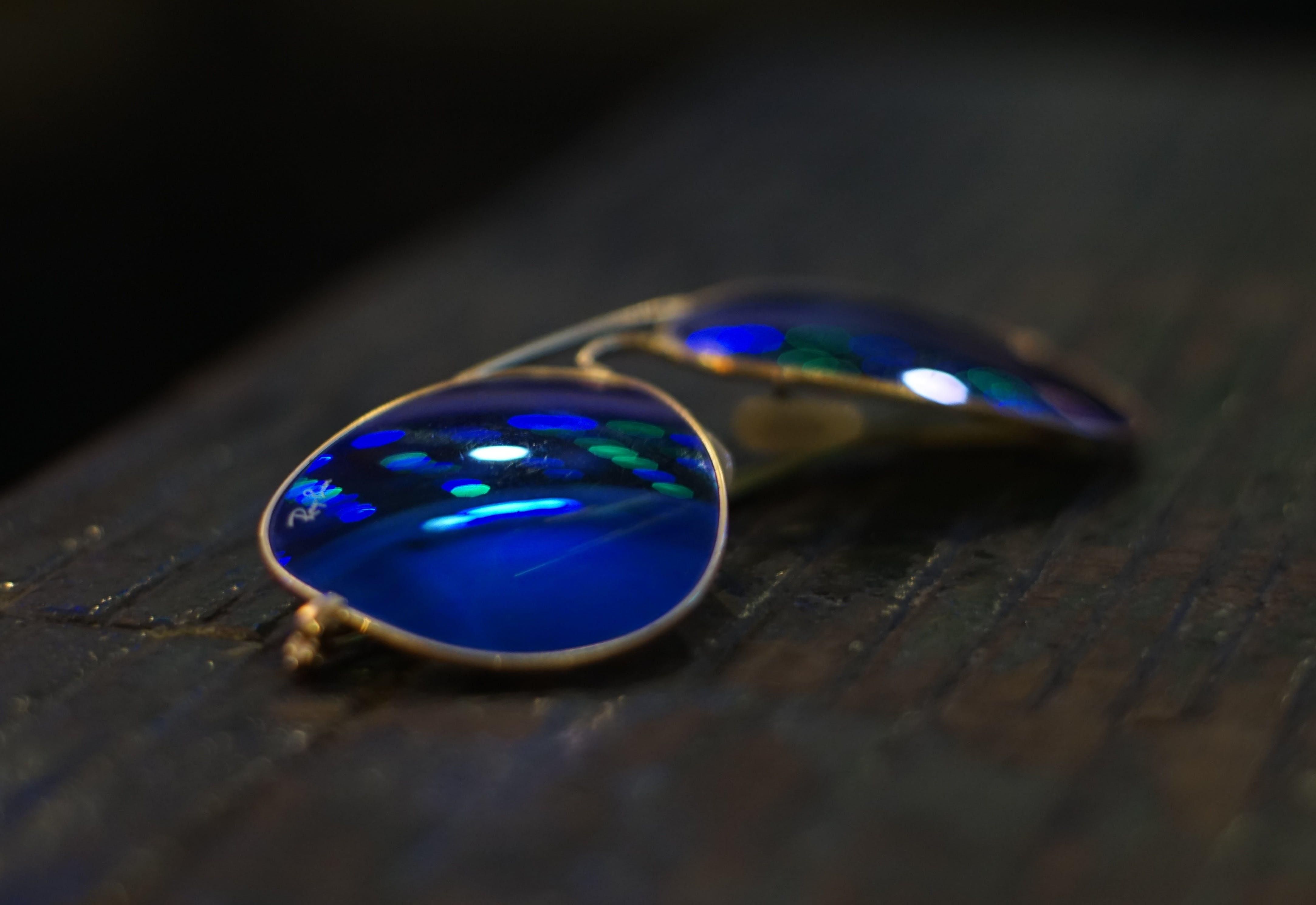 Free stock photo of aviator, aviator sunglasses, blue, ray ban