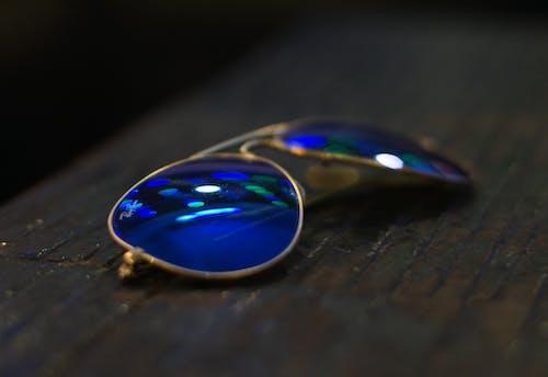 Kostenloses Stock Foto zu blau, flieger, pilotenbrille