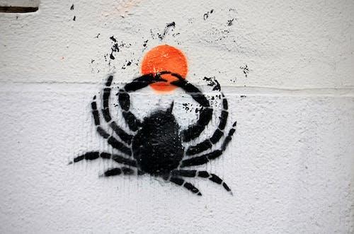 Photos gratuites de art des villes, artiste, crabe, étiquette