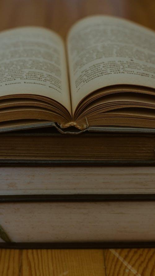 Free stock photo of açık, açık kitap, antik, Araştırma