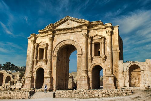 Free stock photo of ancient roman architecture, archeology, jerash, jordan