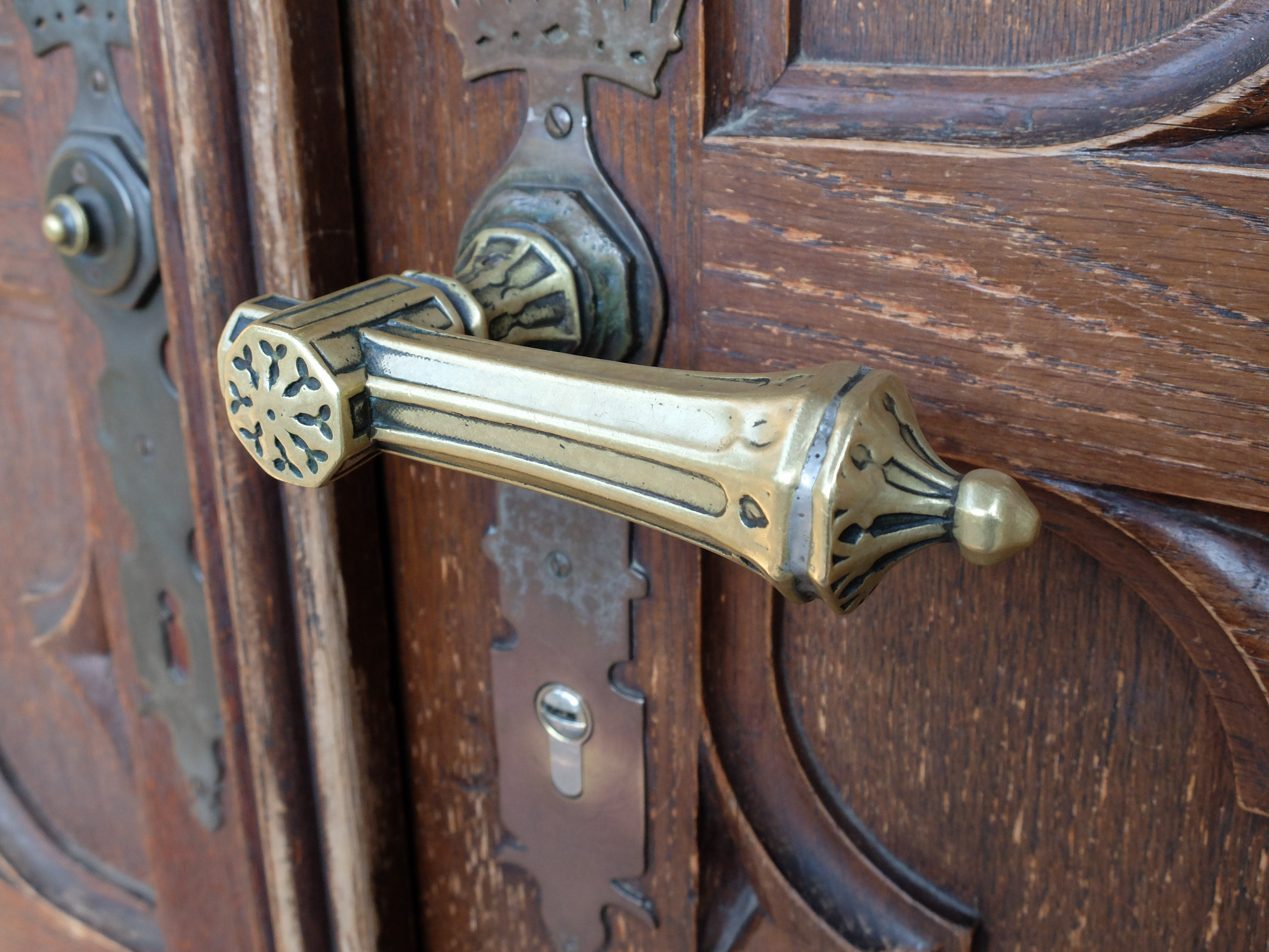 ancient, antique, brass