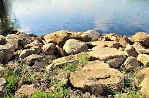 Free stock photo of daytime, reflection, rocks