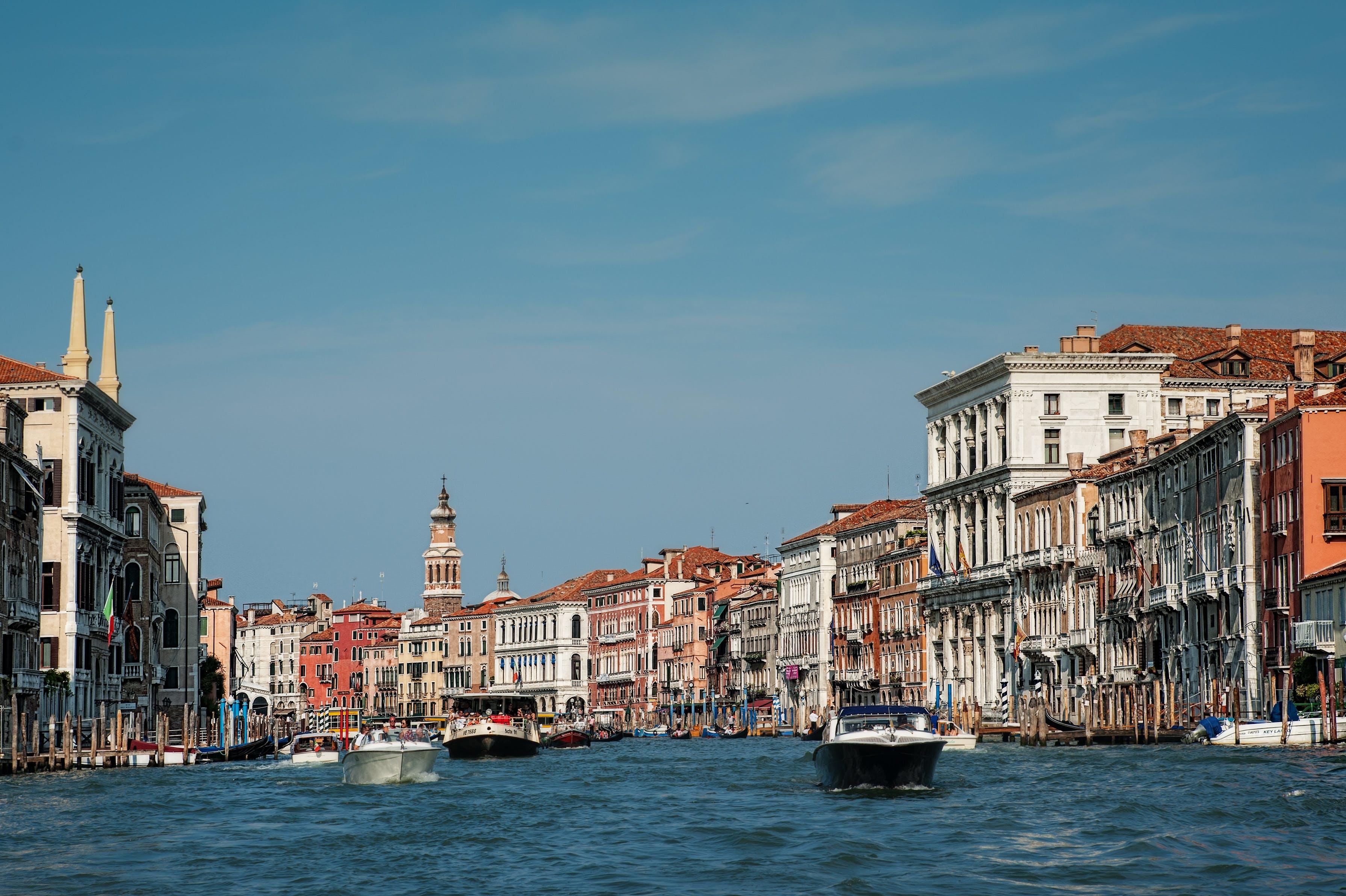 zu architektur, gebäude, gondel, italien