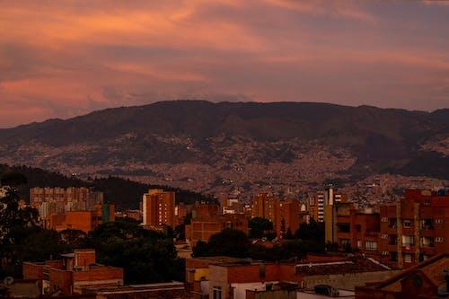 Free stock photo of antioquia, Atardecer, city sunset, colombia