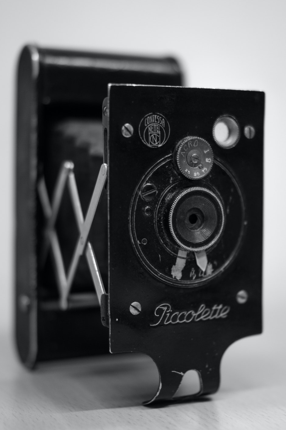 black-and-white, camera, classic