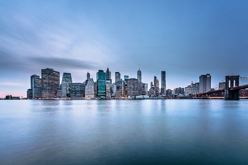 Gratis stockfoto met amerika, architectuur, binnenstad, Brooklyn Bridge